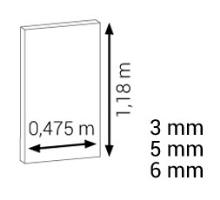 Podložka pod plovoucí podlahy Cezar Expert Matt 5,5mm 5,61 m2