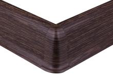 Cezar PREMIUM vnější roh, PVC, 59mm, zebrano, dekor 112