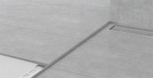 Spádová lišta Profilpas nerez kartáčovaná 10mm 1,5m pravá
