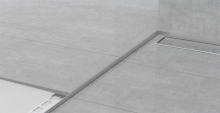Spádová lišta Profilpas nerez kartáčovaná 12,5mm 1,2m pravá