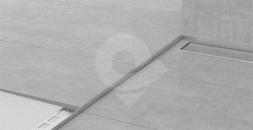 Spádová lišta Profilpas nerez kartáčovaná 10mm 1,2m pravá