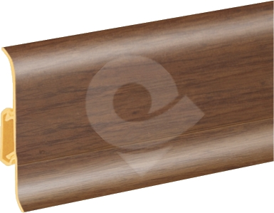 Podlahová lišta soklová Cezar Duo 106