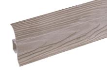 Podlahová lišta soklová Cezar Premium dekor 165