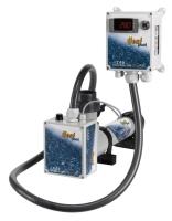 Topení Heat Pool titan s el. průtokovým spínačem a digitálním termostatem, 9kW, 400V