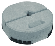 Betonový podstavec DEHN 337/17 kg podl. s klínem