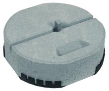 Betonový podstavec s podložkou s klínem Dehn 337/17kg