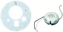 Světelný LED zdroj kruhový Fulgur 20W/4000K BL, 2000 lm včetně napáječe bílý