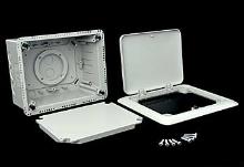 Elektroinstalační krabice Kopos do zateplení s otevíracím víkem 156x196x86mm