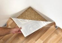 Položení PVC podlahy na volno, cena práce za m2