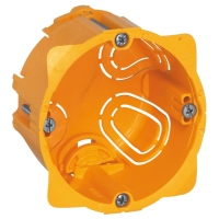 Elektroinstalační krabice Legrand Batibox vestavná, 2 moduly, hloubka 50mm
