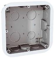 Elektroinstalační krabice Unica pro zapuštěnou montáž 2x4mm