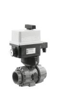 Kulový elektrický dvoucestný ventil 50mm FIP