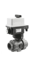 Kulový elektrický dvoucestný ventil 63mm FIP