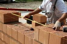 Zdění na maltu obvodového nosného zdiva z keramických tvárnic, cena za m2