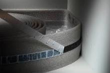 Dilatační okrajový pás Kermi x-net 80mmx25m