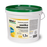 Mistral omítka silikon 1,5H TB pastovitá silikonová omítka 25kg