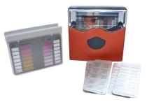 "Bazénový tester DPD ""N"" Cl/pH metoda pomocí tablet, lovibond, oranžový"