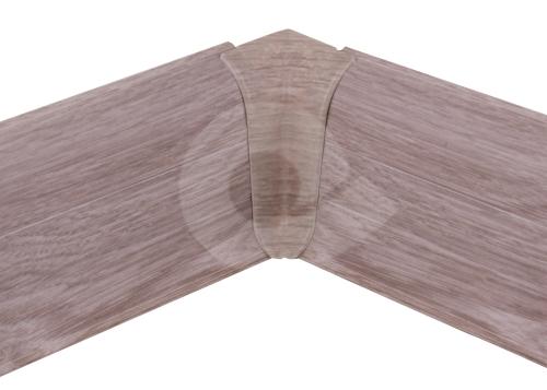 Cezar PREMIUM vnitřní roh, PVC, 59mm, dub labrador, dekor 196