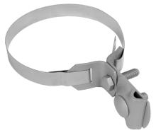 Svorka na okapové roury s páskem měděná Tremis ST