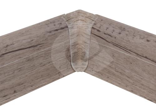 Cezar PREMIUM vnitřní roh, PVC, 59mm, dub modena, dekor 211
