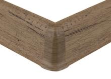 Cezar PREMIUM vnější roh, PVC, 59mm, dub doncaster, dekor 215