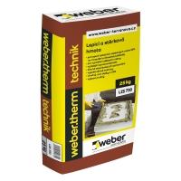 Lepidlo pro lepení na dřevovláknité a dřevotřískové podklady Weber therm technik 25kg