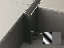 Hloubková dilatace s kotvou do betonu Profilpas Projoint STI šedá guma nerez 10x40mm 2,5m
