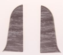 Levá a pravá koncovka k soklové liště Prexa 54 W5 dub 2ks/bal