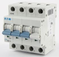 Modulový čtyřfázový jistič PL7-20/D/3N 10kA Eaton