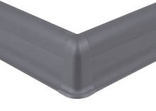 Cezar PREMIUM vnější roh, PVC, 59mm, šedá matná, dekor 088