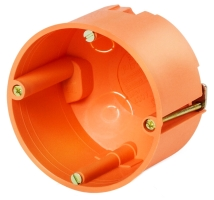 FTR krabice do sádrokartonu 60x47mm oranžová