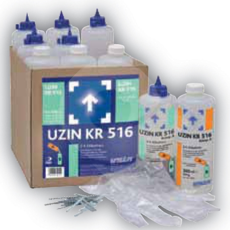 UZIN KR 516 silikátová pryskyřice pro rychlou sanaci trhlin 600ml