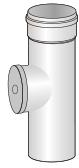Komínový díl s kontrolním otvorem pro kondenzační kotle