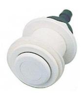 Pneumatické tlačítko včetně průchodu stěnou