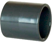 Bazénová pvc tvarovka mufna šedá pro lepení 110mm
