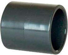 Bazénová pvc tvarovka mufna šedá pro lepení 20mm