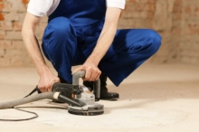 Broušení anhydritové podlahy, cena práce za m2