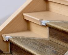 Pokládka podlahy na schody, cena práce za bm