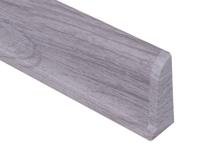 Cezar PREMIUM  koncovka pravá, PVC, 59mm, dub světle šedý, dekor 078