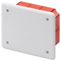 Rozbočovací a propojovací krabice s víkem pod omítky 118x96x56mm