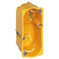 Elektroinstalační krabice Legrand Batibox 1 modul, hloubka 40mm