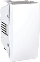 Přepínač střídavý Unica, 1 modul, řezení 6