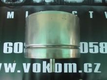 Komínová kondenzátní jímka s vývodem dolů pr. 130mm