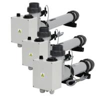 Topení EOVp-3 plast s el. průtokovou klapkou, 3kW, 230V