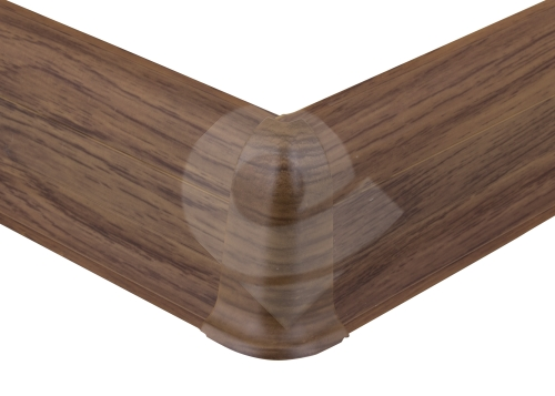 Cezar PREMIUM vnější roh, PVC, 59mm, dub chester, dekor 224