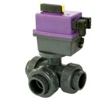 Kulový elektrický ventil třícestný 50mm CH-L