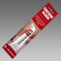 Sanitární silikon bílý Den Braven 23ml Red Line