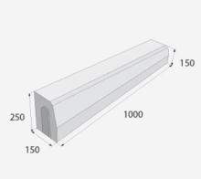Osázení silničního H15/20naběhoveho praveho obrubníku  na beton  cena práce bez materiálu  za m/b