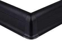 Cezar PREMIUM vnější roh, PVC, 59mm, černá, dekor 090
