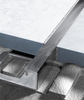 Ukončovací profil Ligma čtvercový hranatý nerez kartáčovaná 11mm 2,5m